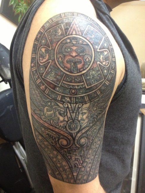 aztec-mayan-tattoo