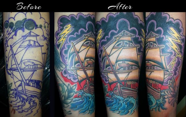 ship-coverup